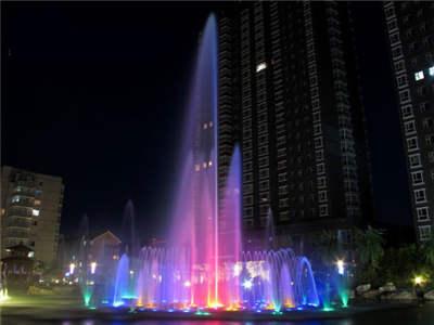 喷泉控制系统,音乐喷泉,新疆,丰县,水景